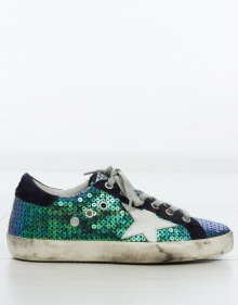 Sequins superstar sneakers GOLDEN GOOSE DELUXE BRAND