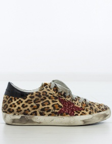Superstar sneakers - leopard prind GOLDEN GOOSE DELUXE BRAND