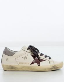 Sneaker superstar - estrella charol GOLDEN GOOSE DELUXE BRAND