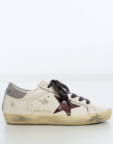 Superstar sneakers - pattent leather star GOLDEN GOOSE DELUXE BRAND