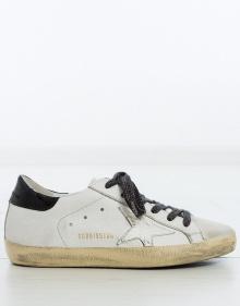 Sneaker superstar - cordones lúrex GOLDEN GOOSE DELUXE BRAND