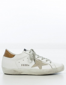 Sneaker superstar - gold GOLDEN GOOSE DELUXE BRAND