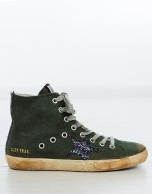 Sneaker Francy  - canvas verde GOLDEN GOOSE DELUXE BRAND