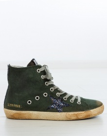 Sneaker Francy  - canvas verde GOLDEN GOOSE DELUXE BRAND