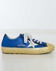 Sneaker glitter azul GOLDEN GOOSE DELUXE BRAND