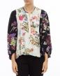 tops-y-camisas IVIA Blusa estampada bicolor ISABEL MARANT