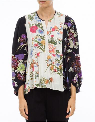 tops-y-camisas IVIA - Blusa estampada  - multicolor ISABEL MARANT