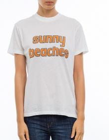 Camiseta sunny beaches GANNI