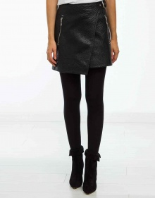 KAKILI - Leather skirt - black ISABEL MARANT ETOILE