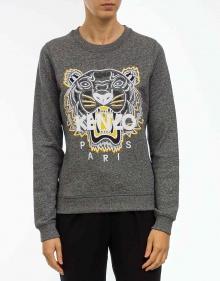 Tiger sweatshirt - black KENZO
