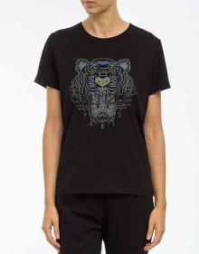 C/T-shirt tigre-negro KENZO