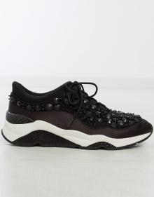 Sneaker pedrería cordones ASH