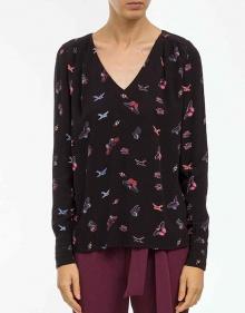 C/Blusa mariposas - negro BA&SH