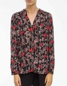 Camisa flores y lúrex BA&SH