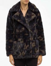 Printed fur jacket ZADIG & VOLTAIRE