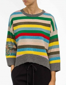 Multicolor striped sweater ZADIG & VOLTAIRE