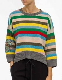 Jersey rayas multicolor ZADIG & VOLTAIRE