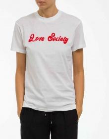 T-shirt LOVE SOCIETY GANNI