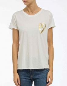 T-shirt corazón metálico THE HIP TEE