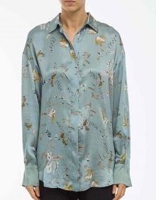 Blusa seda estampada FORTE FORTE