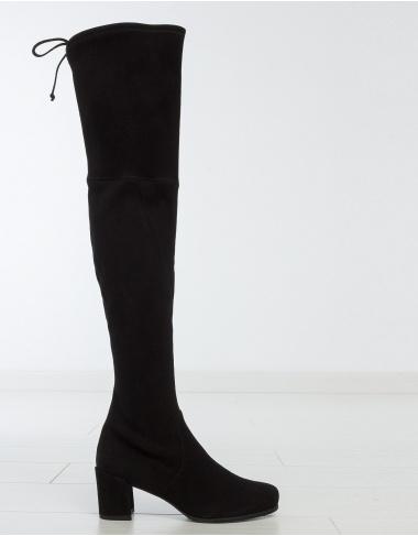 calzado Bota ante strech tacón HINTERLAND - negro STUART WEITZMAN