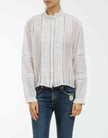 VALDA - Cotton shirt - white ISABEL MARANT ETOILE