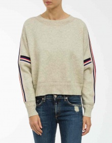 KAO - Sweatshirt with stripe ISABEL MARANT ETOILE
