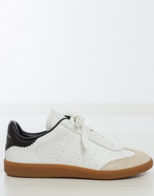 BRYCE - Lace sneakers - white ISABEL MARANT