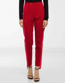 Pantalón franja bicolor - rojo GOLDEN GOOSE DELUXE BRAND