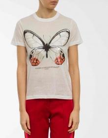 Butterfly T-shirt GOLDEN GOOSE DELUXE BRAND
