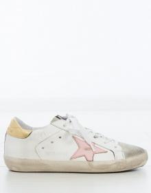 Sneaker superstar - estrella rosa GOLDEN GOOSE DELUXE BRAND