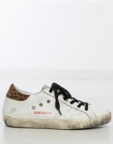 Sneaker superstar - print leopardo GOLDEN GOOSE DELUXE BRAND