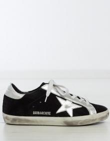 Sneaker superstar - ante negro GOLDEN GOOSE DELUXE BRAND