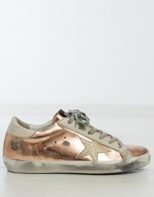 Sneaker dorada GOLDEN GOOSE DELUXE BRAND