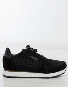 Sneaker trenzado ante WOODEN