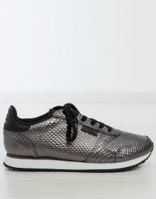 Sneaker metalizada WOODEN