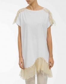 Bambula details long T-shirt TWIN-SET