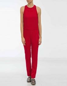 Crepe jumpsuit - red IRO
