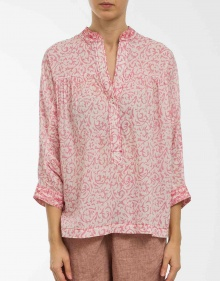 Printed cotton blouse MASSCOB