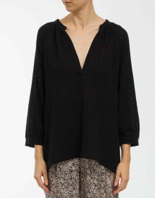 Bambula blouse - black MASSCOB