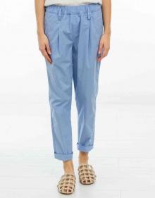 Poplin trousers - light blue FORTE FORTE