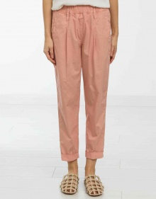 Poplin trousers - pink FORTE FORTE