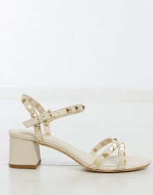 RUSH TER studded sandals - ivory ASH