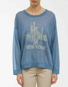 Jersey lurex New York TWIN-SET