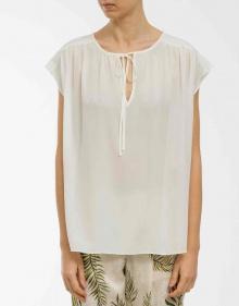 Silk blouse - ecru VANESSABRUNO