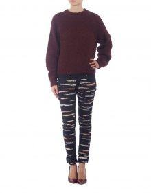 ORSON embroidered multicoloured jeans ISABEL MARANT
